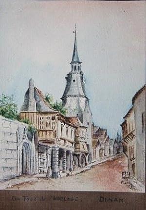 Watercolor Album of European Views