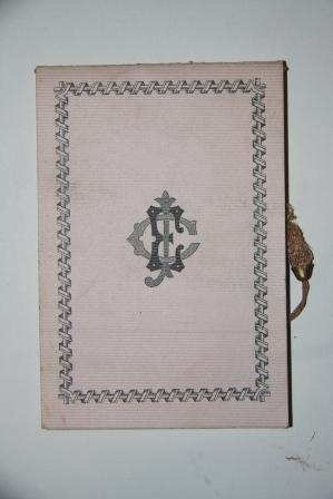 [Victorian Dance Card] Annual Summer-Night's Festival of the James Everard Club, at Terrace ...