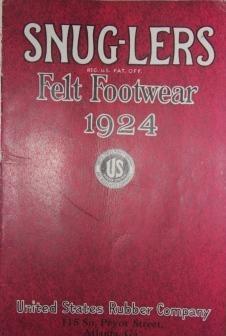Snug-lers Felt Footwear 1924