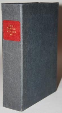 Les Cartes a Jouer et la Cartomancie, [together with] a set of twelve elaborately hand-drawn ...