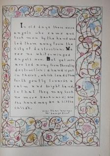 Illuminated Manuscript] Memory Lines from High School English at Chatham High School 1925 - 1929: ...