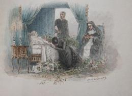 Le Docteur Rameau: Ohnet, George. Original watercolors by P. de Crauzat