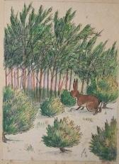 [Manuscript] The Adventures of Little Jack Rabbit, [together with] a specification letter by author...