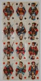 Deck of Miniature Playing Cards, Uncut