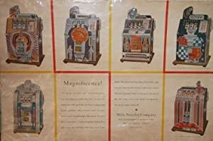 Poster for Mills Novelty Company. World's Largest Manufacturer of Coin Operated Machines.