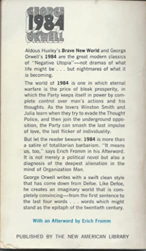 1984 george orwell dramatic performance analysis essay How would you describe george orwell's writing style excerpt from orwell's 1936 essay do we live in george orwell's 1984.