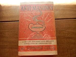 Anti-Masonry: Light on the Past and Present: Cerza, Alphonse