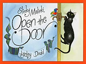 Slinky Malinki, Open The Door (BB): Lynley Dodd