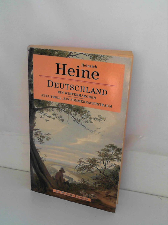 Deutschland, Ein Wintermarchen: Heine