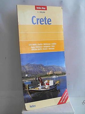 Nelles Map Crete (Landkarte) 1: 200 000.: Günter Nelles