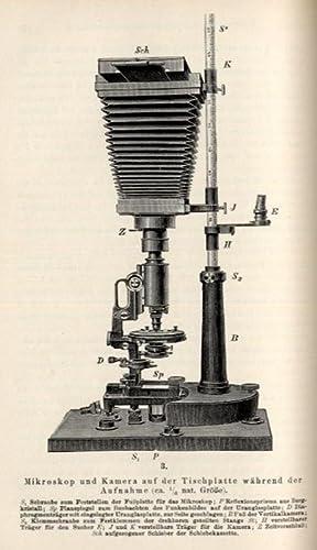 Mikrophotographische Untersuchungen mit ultraviolettem Licht (pp.129-65, 273-304, 8 Holzschnitte, 6...