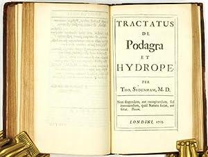 Opera Universa. Editio Tertia.: Sydenham, Thomas