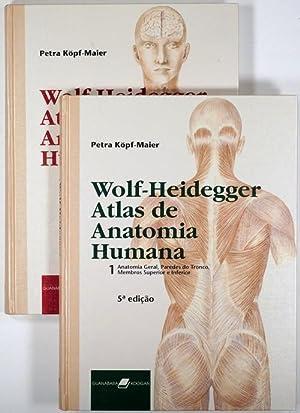 Wolf-Heidegger's Atlas de Anatomia Humana. 2 vols: Wolf-Heidegger, Gerhard: =