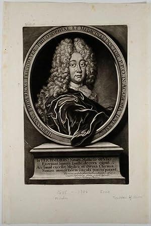 Portrait, Bruststück nach links gewandt, den Kopf im Viertelprofil, Blick nach vorn zum Betrachter,...