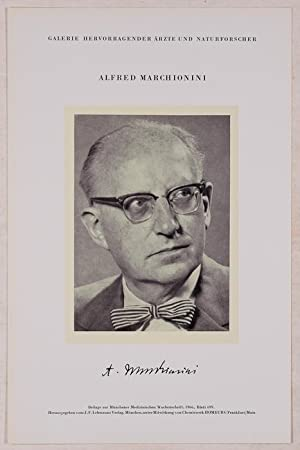 Portrait, Brustbild, Photographie, Lichtdruck 8,5 x 12: Marchionini, Alfred =