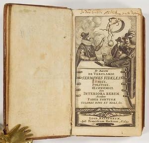 Sermones fideles, ethici, politici, oeconomici: sive Interiora: Bacon, Francis