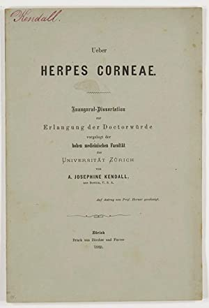 Ueber Herpes Corneae. Diss.