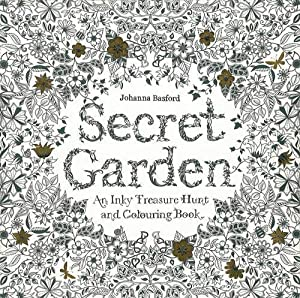 9781780671062 Secret Garden An Inky Treasure Hunt And Coloring