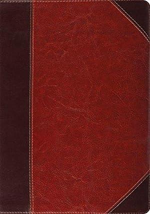 ESV Study Bible (TruTone, Brown/Cordovan, Portfolio Design): Crossway, ESV Bibles