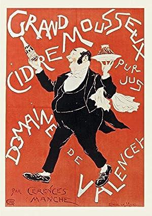 Carnet Ligne Affiche Cidre Valencey (Bnf Affiches): Le Mouel, Eugene