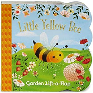 Little Yellow Bee: Lift-a-Flap Children's Board Book: Swift, Ginger; Cottage