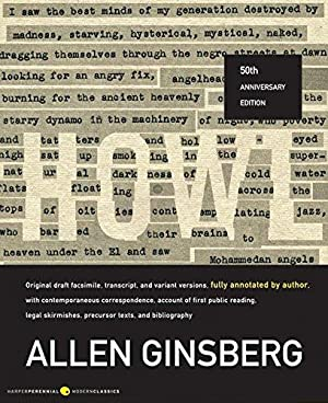 Howl: Original Draft Facsimile, Transcript, and Variant: Ginsberg, Allen