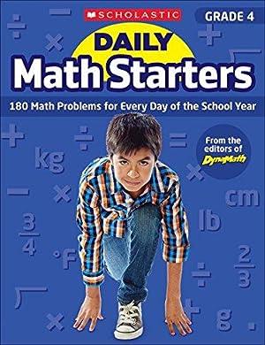 Daily Math Starters: Grade 4: 180 Math: Krech, Bob