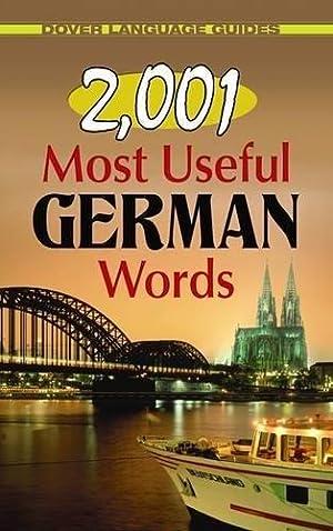 2,001 Most Useful German Words (Dover Language: Moser Ph.D., Joseph