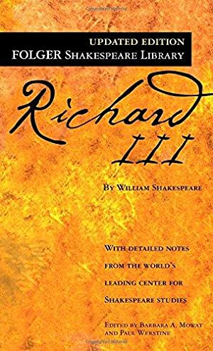 Richard III (Folger Shakespeare Library): Shakespeare, William