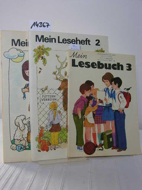 3061091246 - Konvolut/Sammlung aus 2 Leseheften und einem Lesebuch ...