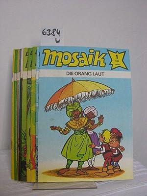 Mosaik Konvolut/Sammlung aus 12 Heften vom Jahrgang: Dräger, Lothar