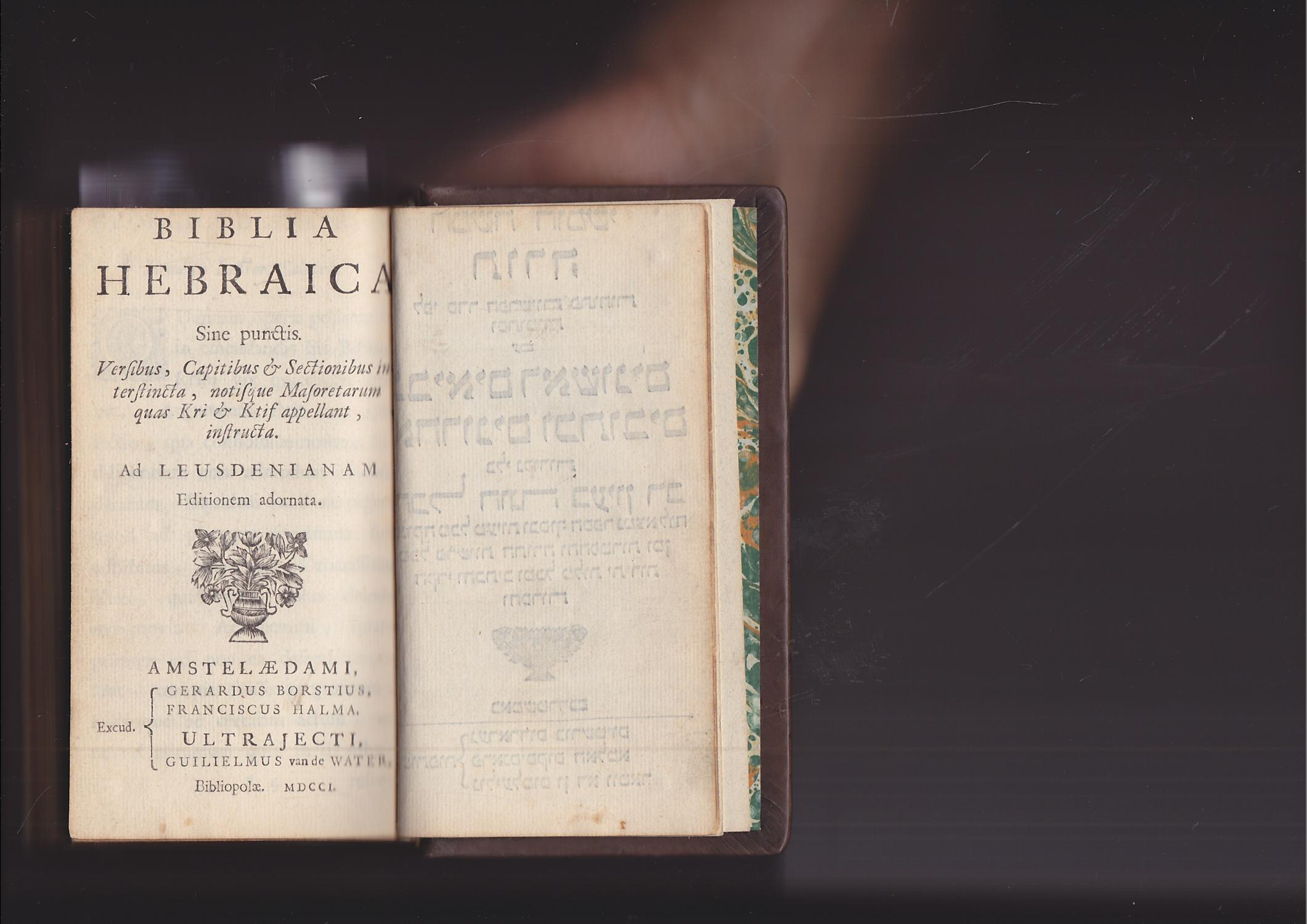 Bible, Hebrew with Megilot & Haftarot]
