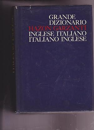 Grande Dizionario Inglese Italiano Italiano Inglese: Hazon, Mario