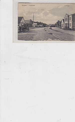 Grajewo. Rudastrasse Synagogue [post card postcard]