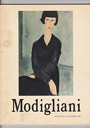 Loan Exhibition AMEDEO MODIGLIANI. October 14 -: Acquavella Galleries, Inc.