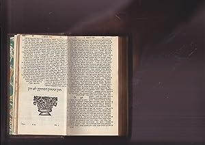 Bible, Hebrew with Megilot & Haftarot]. hamisha humshei Tora. BIBLIA HEBRAICA Sine punctis. ...