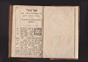 PROVERBIA SALOMONIS, Iob, Canticum Canticorum, Ruth, Lamentationes Ieremiae, Ecclesiastes, & ...