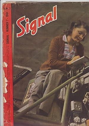 SIGNAL nummer 7. 1944 [in Dutch]