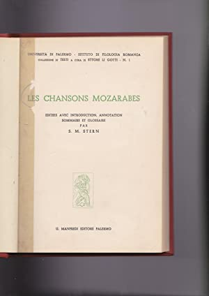 Les chansons mozarabes. Les vers finaux (kharjas)