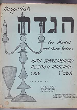 Haggadah for model and third seders 1956