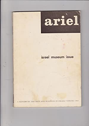 Ariel: A Review of the Arts and: Halevy-Levin, Isaac (ed.);