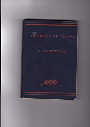 The book of psalms edited with comments: Montefiore, C. G.