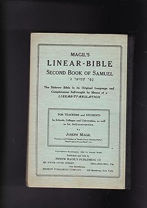 Magil's LINEAR-BIBLE Second Book of Samuel sefer: Magil, Joseph
