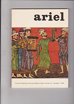 Ariel: A Quarterly Review of Arts and: Lotan, Yael, edited