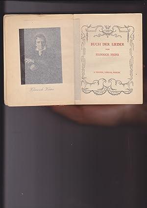Buch Der Lieder: Heine, Heinrich; Textrevision