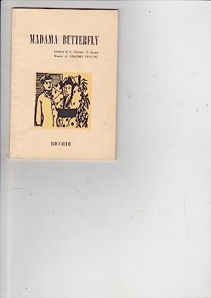 puccini g - madama butterfly - AbeBooks