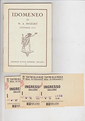 Idomeneo [Libretto only]: Mozart, W. A.