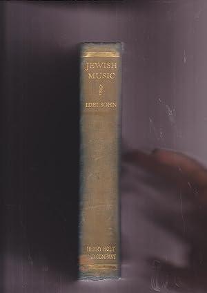 Jewish Music in its Historical Development: Idelsohn, A. Z.