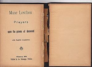 Mane Loschon Prayers upon the graves of