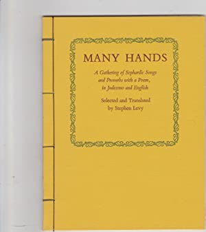Many Hands, a Gathering of Sephardic Songs: Levy, Stephen, Selected